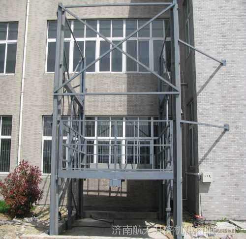 黄石有卖液压升降货梯厂家 车间安装一台导轨式升降机多少钱? 固定式液压升降台