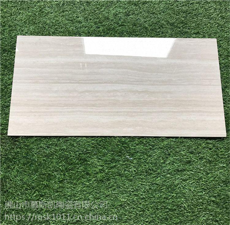 佛山厂家直销陶瓷薄板客厅瓷砖300x6005.5mm厚阳台瓷砖防潮