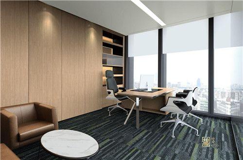 一个成功的总经理办公室设计是这样的