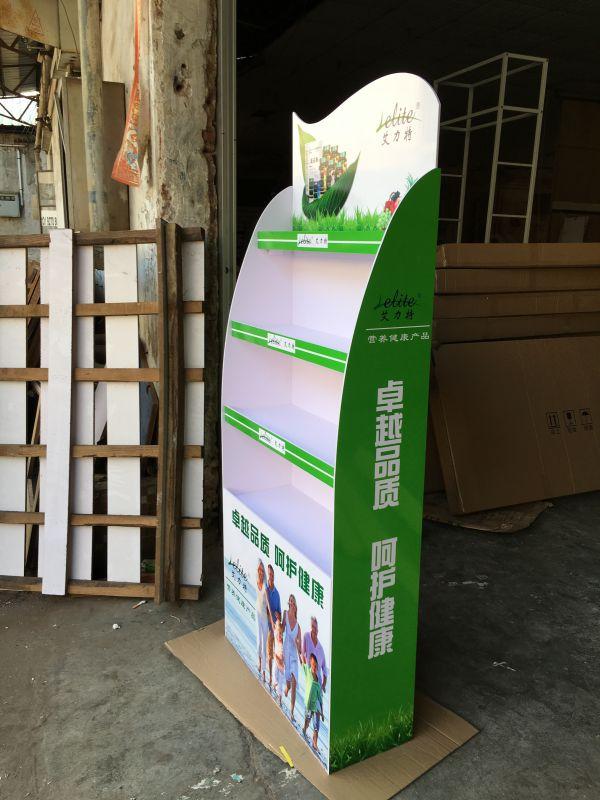 安迪板展示架 轻便广告促销含画面 组装卖场配送广告物料 展架订制