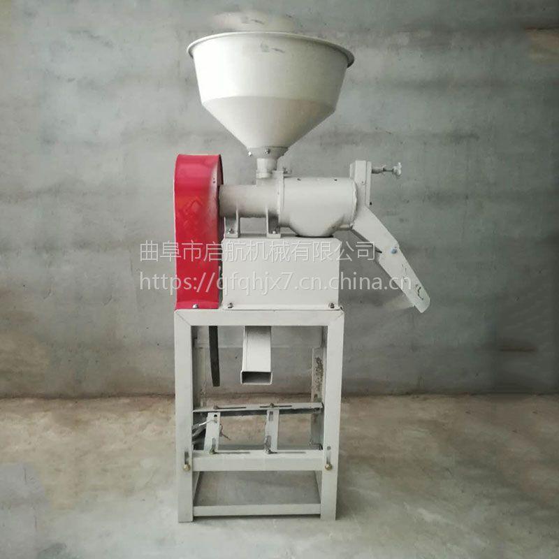 大豆脱皮机质量好 启航新型打米机 湖南家用碾米机