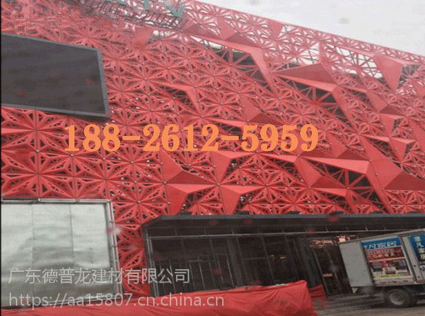 广东大型建筑外墙镂空铝单板厂家直销