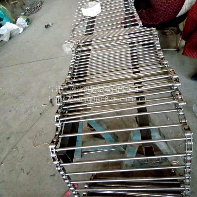 宁津乾德网带加工 304不锈钢输送带 食品传送网带非标规格