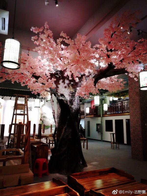 仿真桃花树仿真樱花树仿真梅花树新年婚庆许愿树酒店仿真树厂家