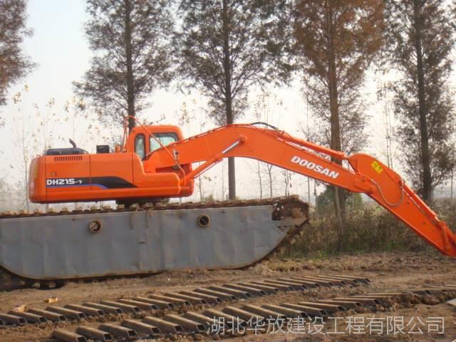 台州 加长臂湿地挖掘机不知道湖北华放机械的水陆挖掘机怎么样