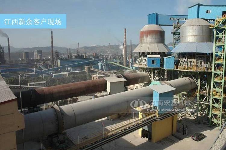 球团厂回转窑,60万吨球团项目用多大型号设备