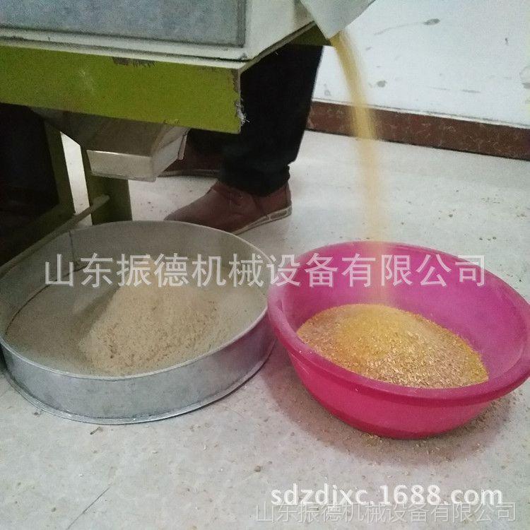 大米电动石磨机 新型面粉加工石磨 全自动米面机械设备 振德牌