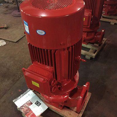 凯泉牌90kw喷淋泵XBD7.5/20-HL立式多级消火栓泵喷淋加压水泵