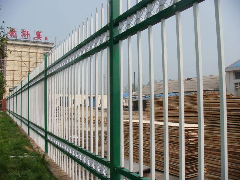 江门电厂围墙围栏 小区栅栏找佛山晟护厂 珠海抗台风厂区栅栏直销