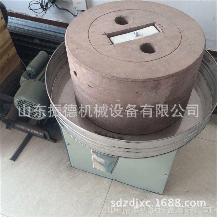 商用芝麻酱米浆石磨机 电动石磨豆浆机 肠粉石磨机 振德直销