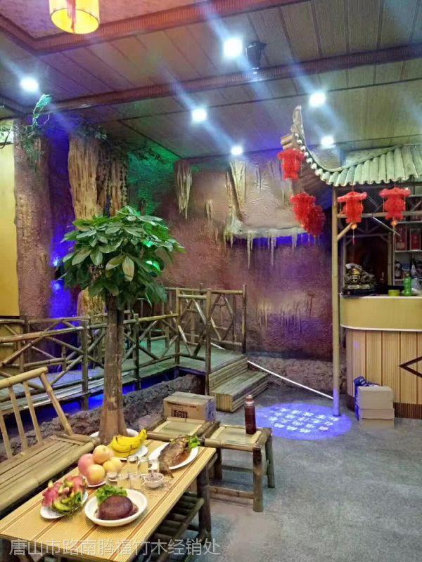 唐山绿化支撑杉木杆2米3米4米5米腾福竹木