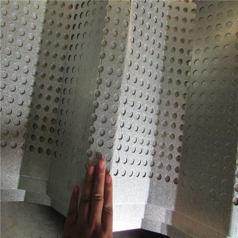 防风抑尘网 冲孔网厂家 金属防尘网安装