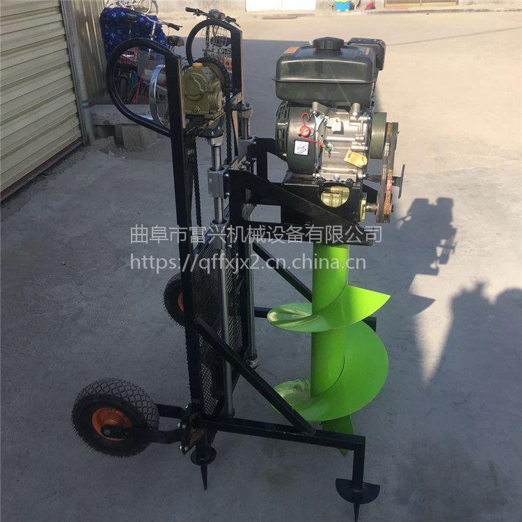 大棚立柱挖坑机 手推式安全植树打坑机哪里有卖的