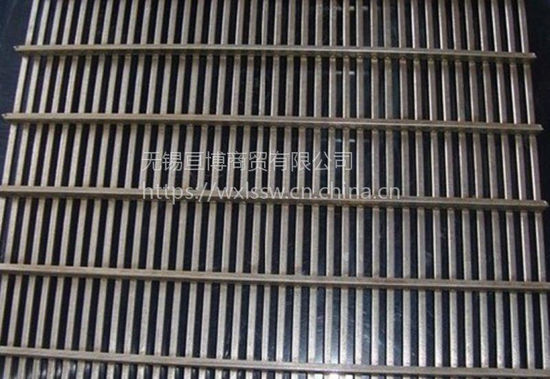 不锈钢焊接式矿筛网、震动筛网、条缝筛网