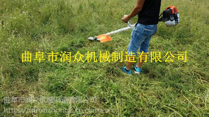 不留死角果园割草机 背负式山地斜坡割草机 润众