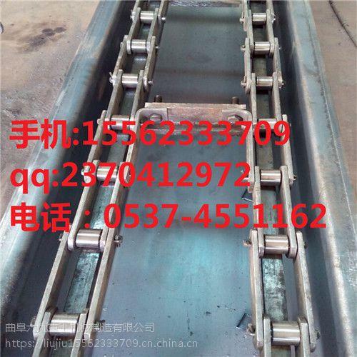 六九重工制造循环铸石自动化刮板输送机 上料功能齐全链条装车刮板机