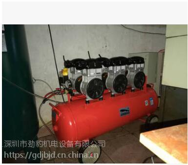 上海嘉定空压机10P劲豹静音无油空压机功率7500W规格SLH300转速1400rpm