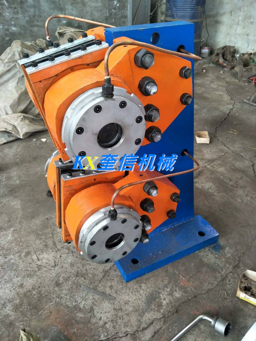 TS220小四吨制动器钢背刹车片刹车带闸皮