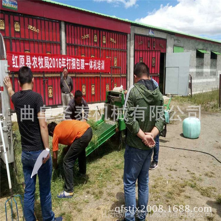 黄储秸秆 玉米秸秆青储打包机青贮压块机 青贮玉米收割机
