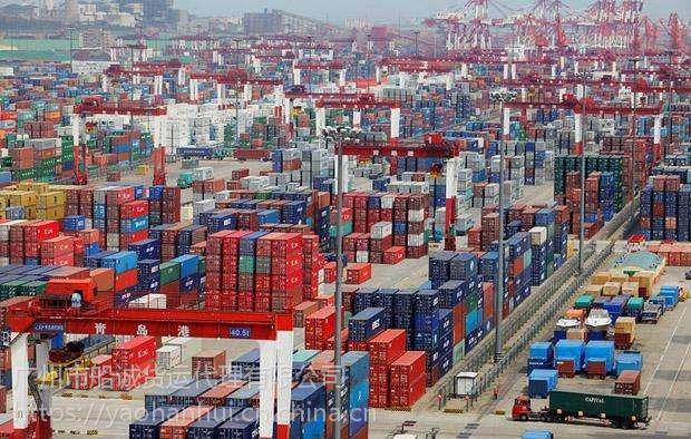 广东东莞到上海虹口走海运点对点全程运输【一个小柜装瓷砖装多少吨】