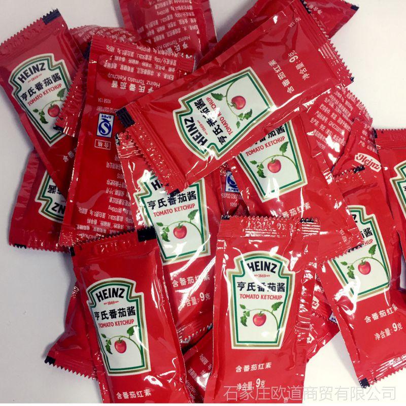 批发亨氏番茄沙司番茄酱小蘸料 KFC薯条三明治意大利面酱整箱