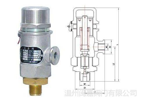 液氩)等低温液态介质系统上,低温安全阀da21y-250p当设备和管路内压力图片