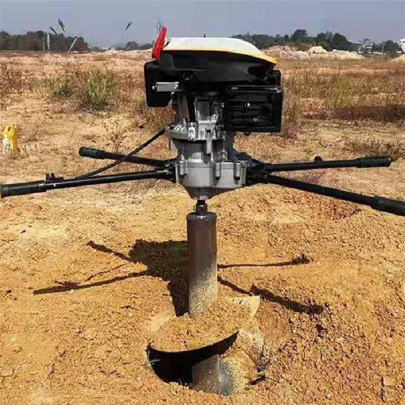 广东山坡养鸡围栏打洞机 运行费用低的打坑机 值得信赖的打坑机