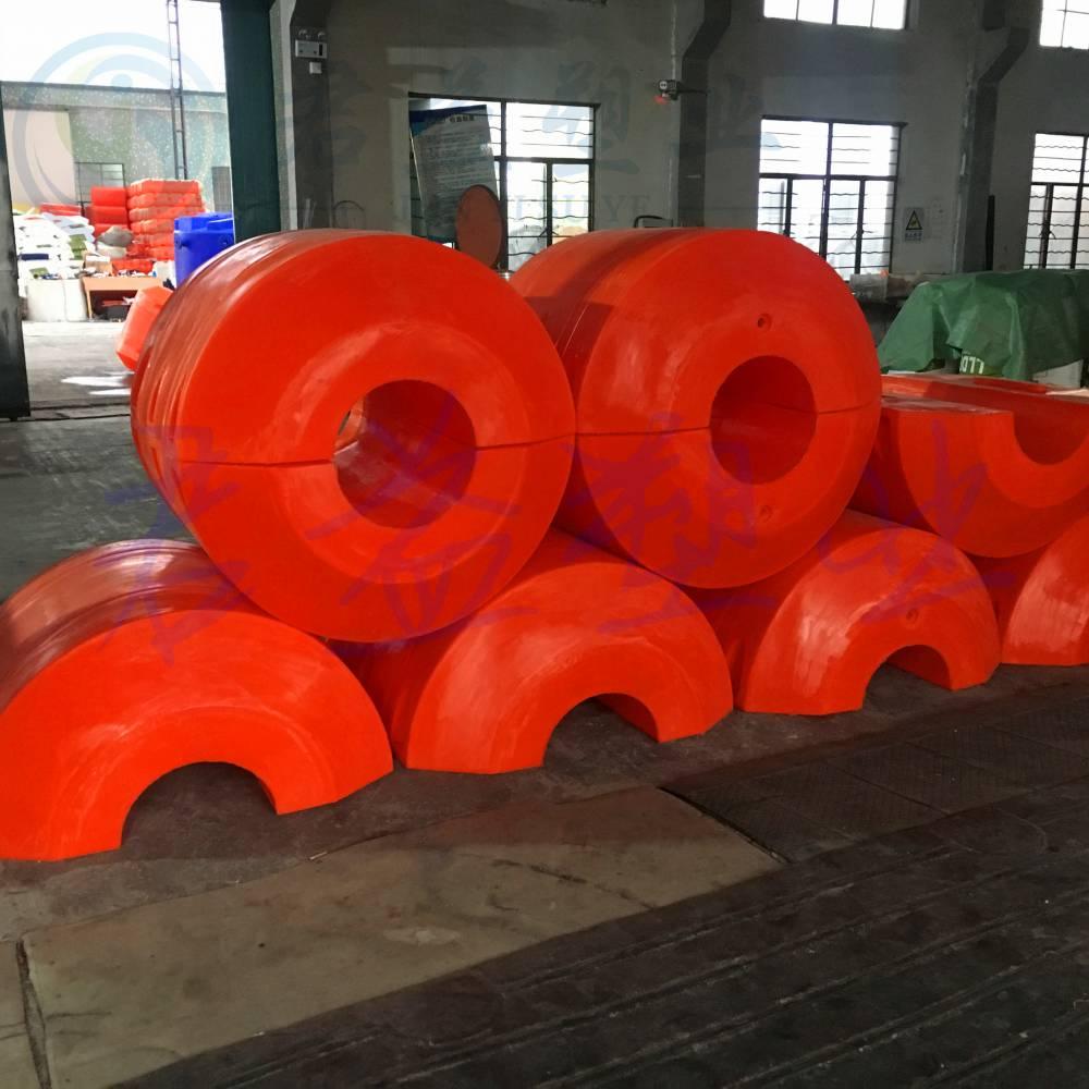 塑料警示浮筒直径1100*1100 海洋管道浮筒