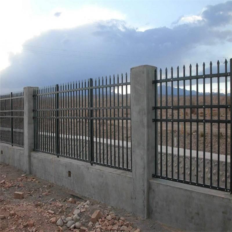 汽车站隔离栏杆 车站外墙围栏 锌钢隔离栏杆厂家