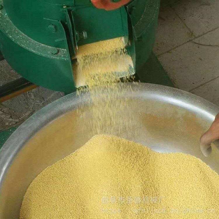 谷子水稻脱壳机 砂轮去皮碾米机 圣鲁热销