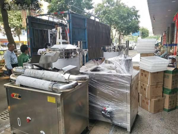 东莞周边有豆腐机卖吗?望牛墩蒸汽豆腐机,龙岗豆腐机公司澳美嘉机械