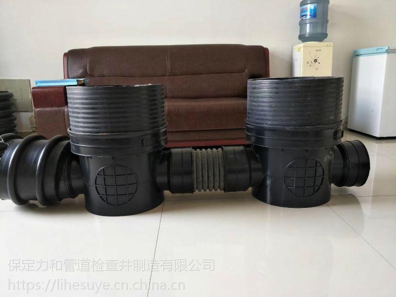 供应内蒙古钢带管hdpe克拉管