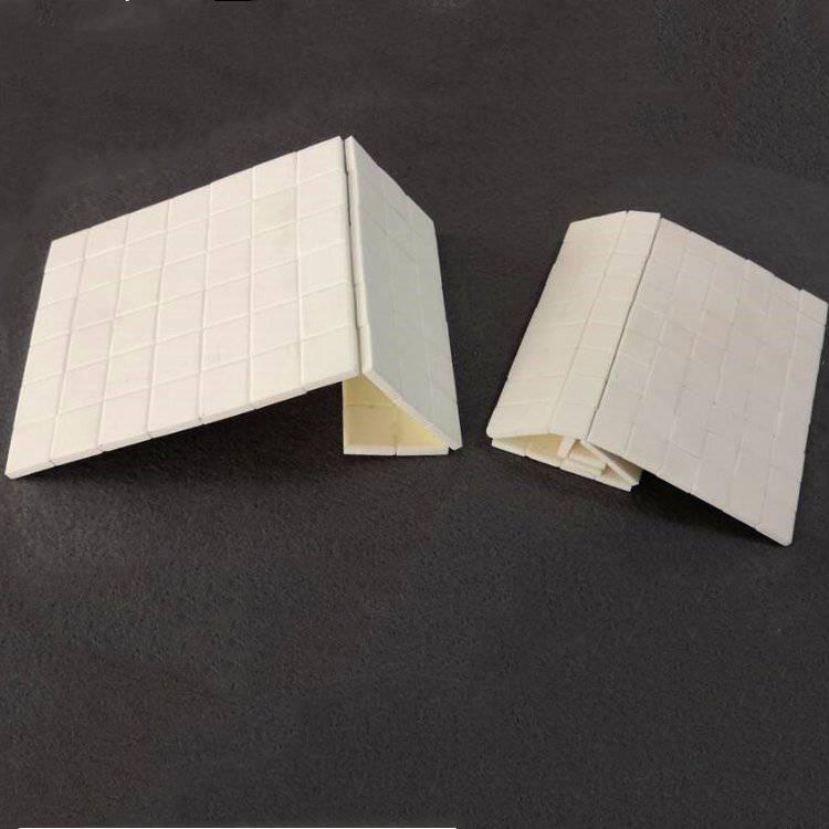 淄博厂家供应 规格 10*3,17.5*4 白色92、95抗磨损粘接耐磨陶瓷片
