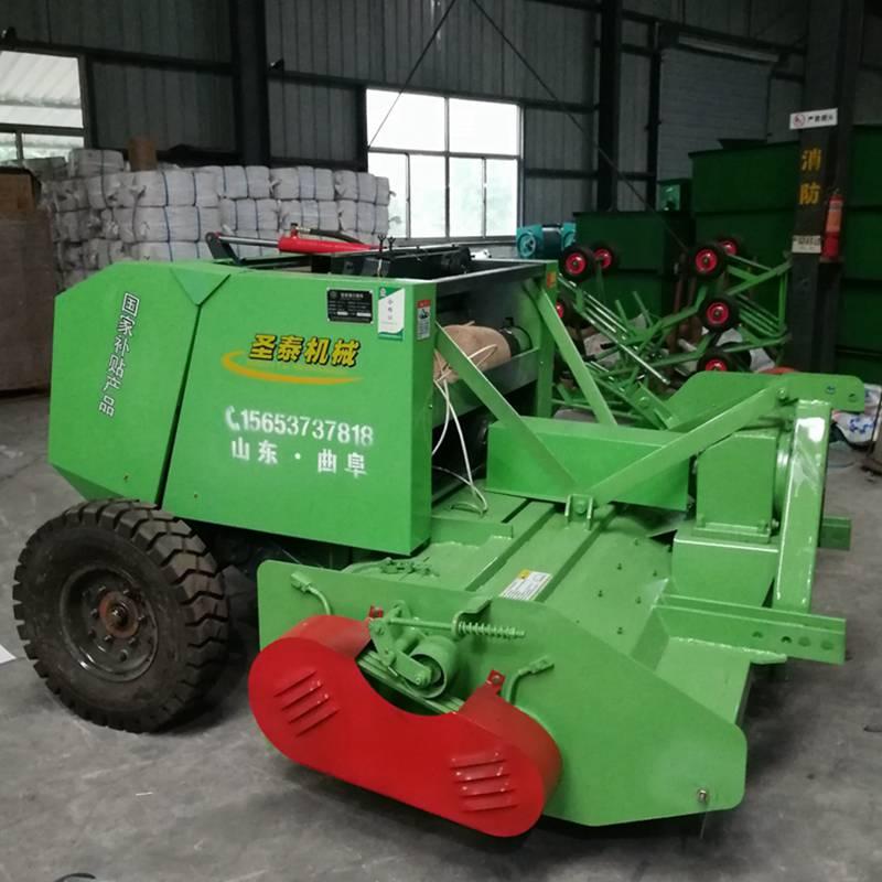 玉米秸秆回收机价格行业领先 山东粉碎打捆一体机
