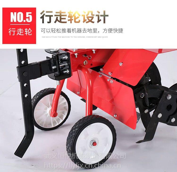 锄草必备利器雷力小型手推式除草机
