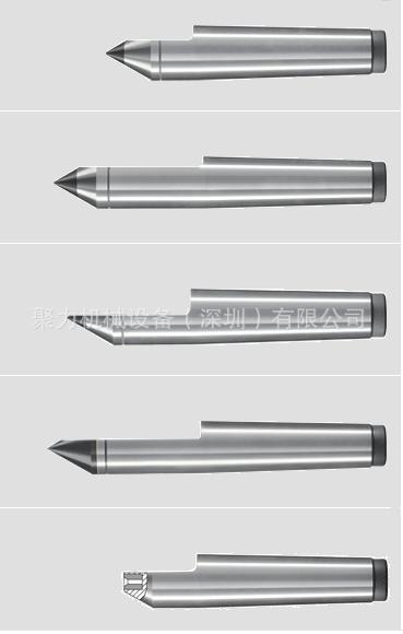 德国BRUCKNER死顶针,固定顶针,合金头顶针,半缺顶针,磨床顶针