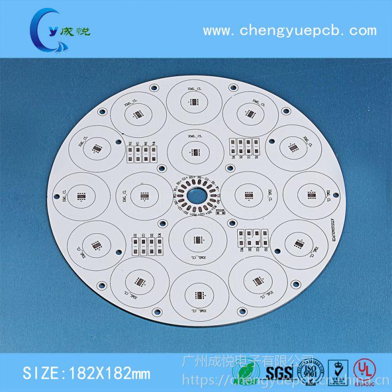 高端定制 大功率LED飞碟灯厂家 东莞线路板厂家 铝