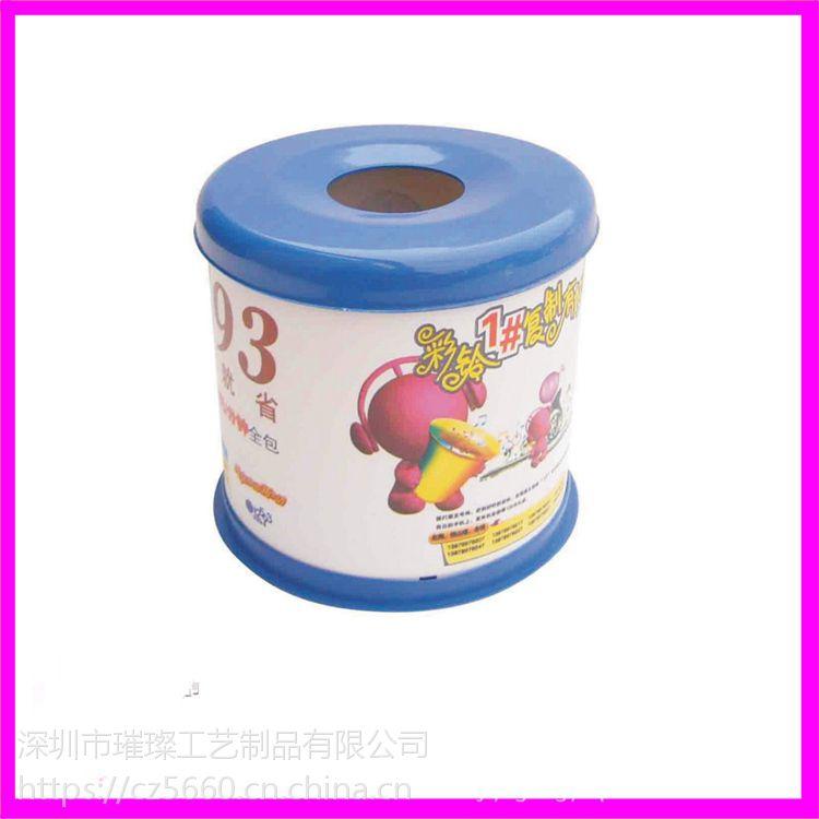 深圳厂家批发餐厅防尘专用纸巾盒、抽取式纸巾筒定制LOGO