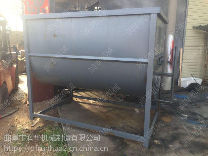 大型粉碎搅拌一体机 不锈钢防腐蚀搅拌机 牛饲料混料机