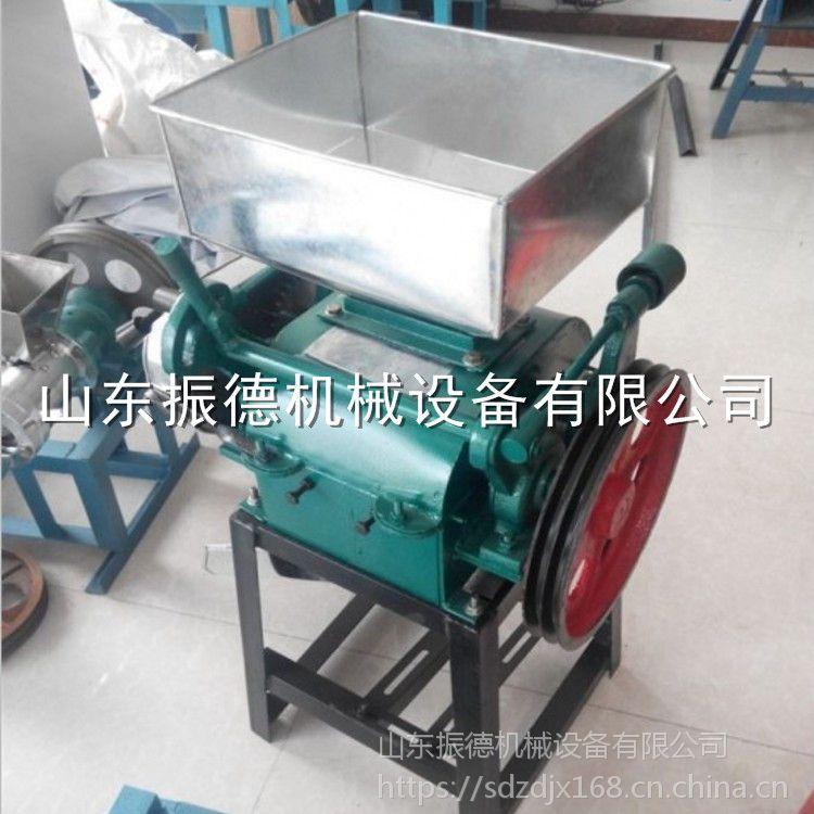 加工定制 花生米破碎机 多功能豆扁机 粮食加工设备 振德