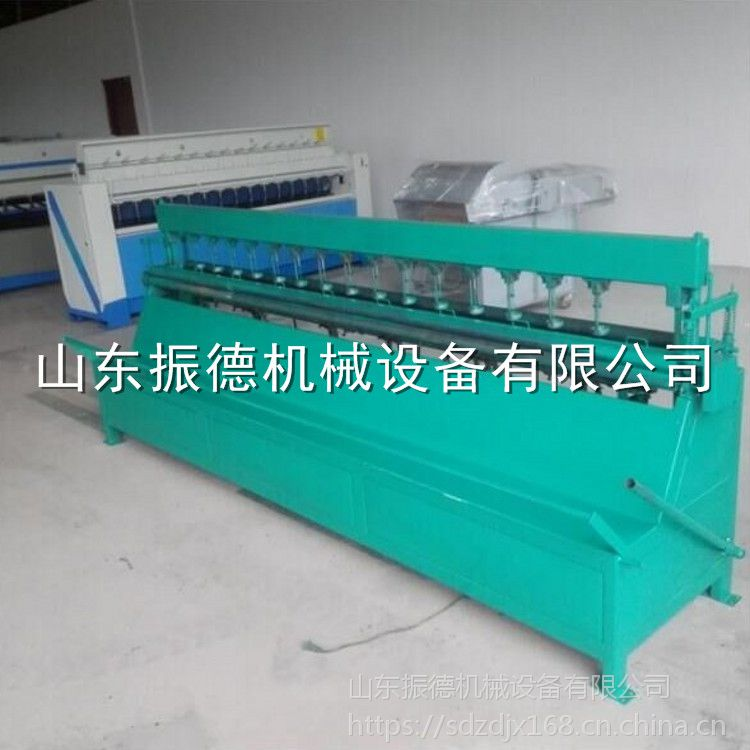 供应 无底线棉被机械 振德牌 电动引被机 直线缝被机