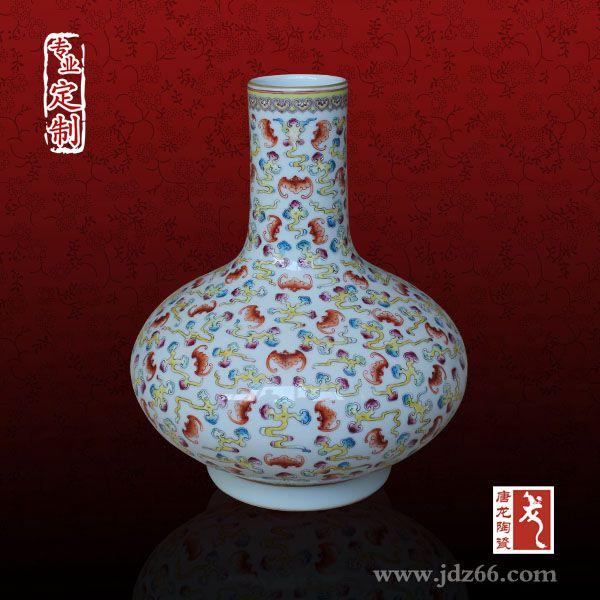 供应周年庆典陶瓷花瓶、同学聚会陶瓷纪念礼品定制厂家