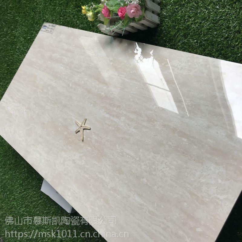 全瓷通体中板400X800大理石纹瓷砖直边客厅卫生间厨房墙砖