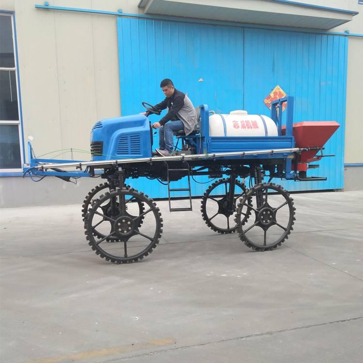 旭阳生产农用小麦杀虫打药车柴油四轮喷雾器单缸四驱喷药机