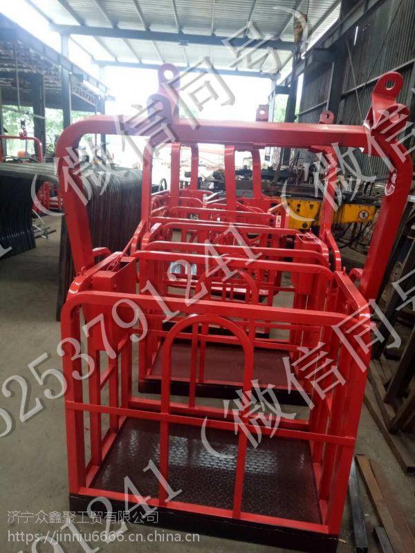 新款 1米 8吨--50吨吊车专用 吊车吊篮吊框 自动调平吊车专用吊篮