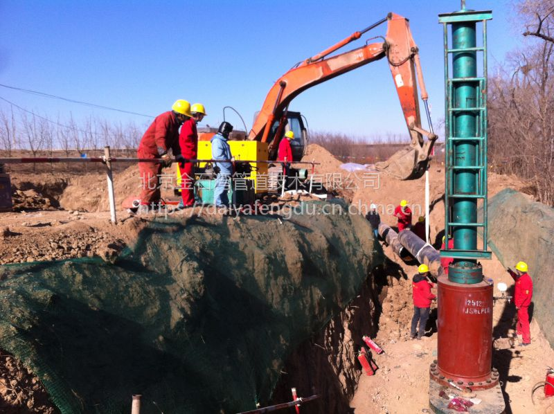 河南信阳D325天然气管道开口接支线、带气封堵工程承包 18733726945