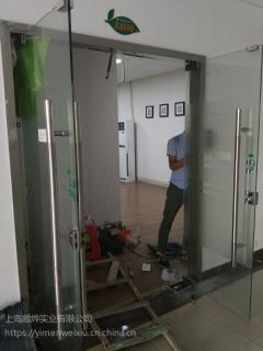 黄浦区玻璃门维修上海推拉门维修老西门玻璃门维修