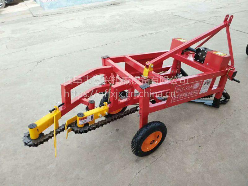 富兴自动刨花生机 收花生果的机器 快速挖果子机械