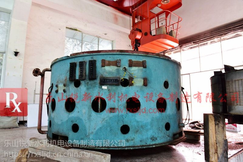 四川乐山锐新水轮发电机SF立轴效率高噪音低使用寿命更长
