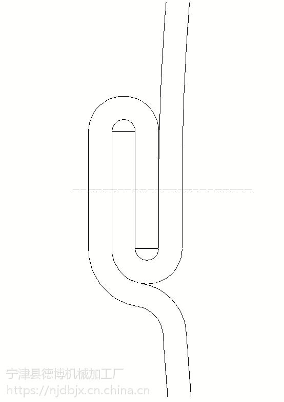 德博机械供应汽车消声器设备纵缝咬扣机
